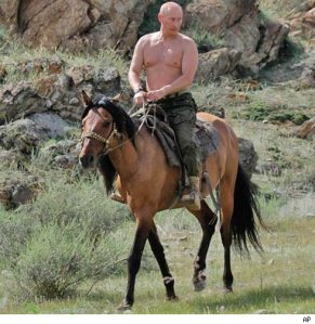 """HOKAY, confession time: sometimes Papa Vlad takes a break and lets the horse run things for a while. Even the horse thought invading Crimea was stupid."""