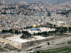 Dome of the Rock and Al-Aqsa Mosque, on the Temple Mount