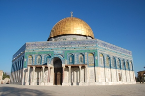 The Dome of the Rock, completed in 691 (via)
