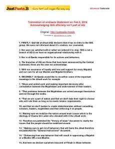 al-qc481_idah-22on-the-relationship-of-qc481idat-al-jihc481d-and-the-islamic-state-of-iraq-and-al-shc481m22-en_Page_1