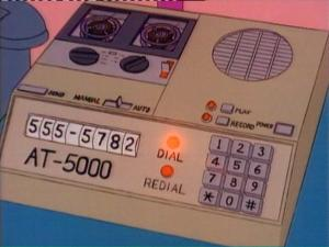 """""""Hello, this is Homer Simpson, a.k.a. Happy Dude.  The court has ordered me to call every person in town to apologize for my telemarketing scam. I'm sorry.  If you can find it in your heart to forgive me, send one dollar to Sorry Dude, 742 Evergreen Terrace, Springfield.  You have the power."""""""