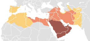 The caliphate at its largest in terms of territory (via)