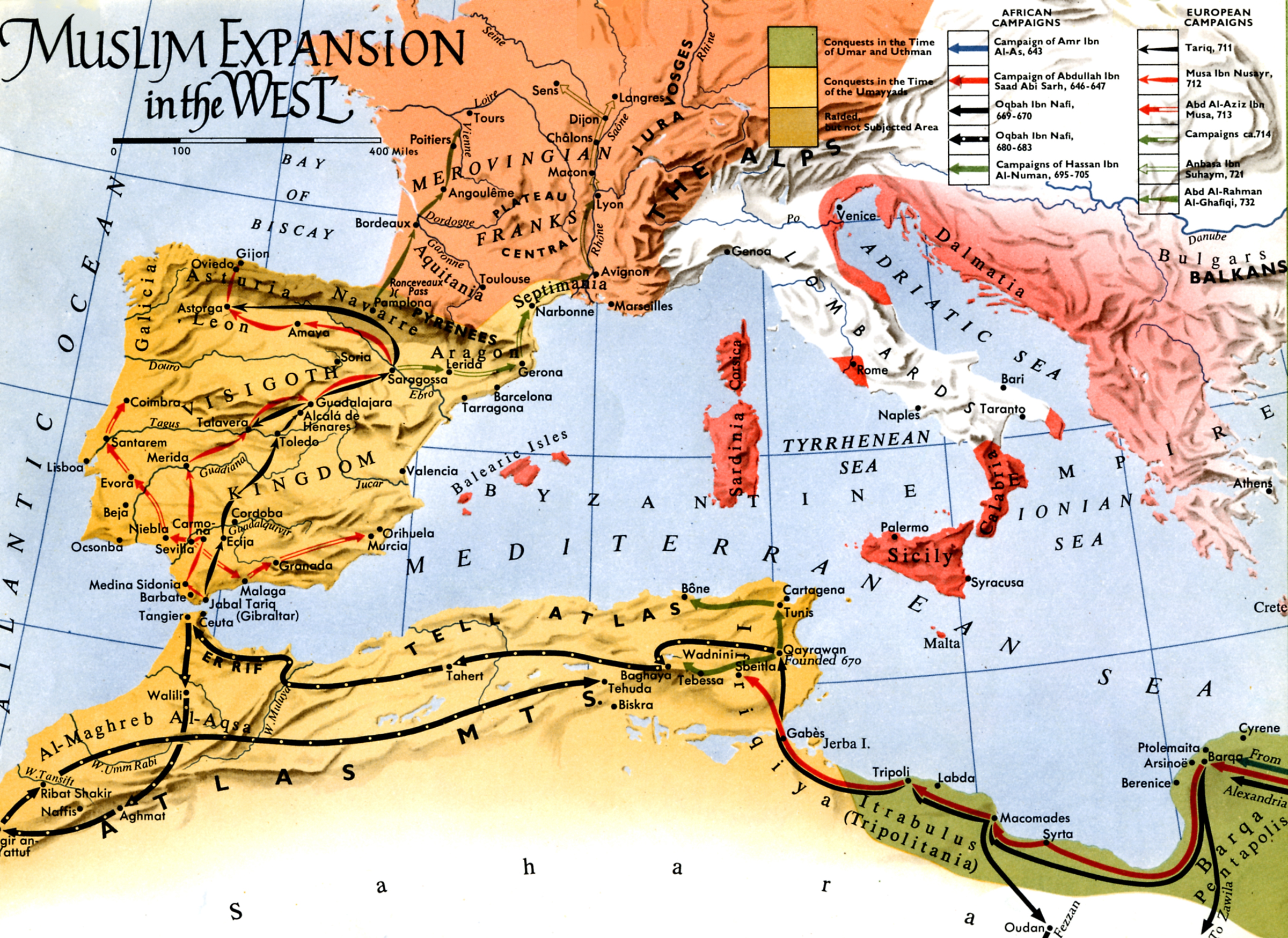 Islamic History, Part 18: the conquest of Iberia (711-759) | and that ...