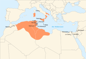 The Aghlabid Dynasty at its territorial height