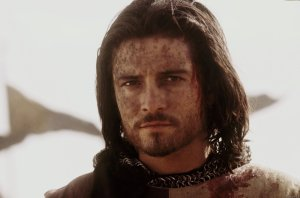 The real Balian of Ibelin probably wasn't this dreamy, but he might have been a better movie actor than this guy.