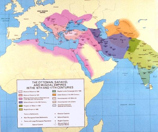 Map - Three Empires