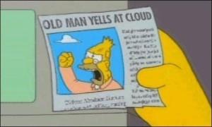old man cloud