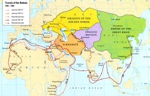 Ibn Battuta's travels, at least according to him