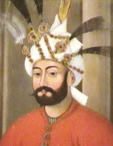Portrait of Tahmasb I (via)