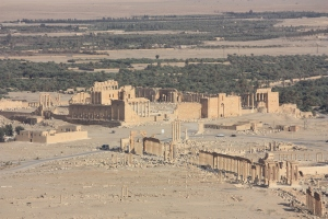 Palmyra, as it will probably never look again (via Wikipedia)