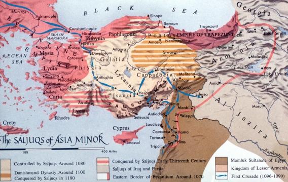 Map - Rum Saljuqs