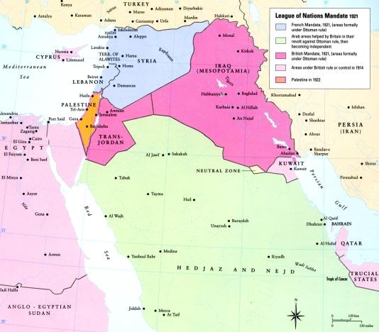 Map - Mandates 2