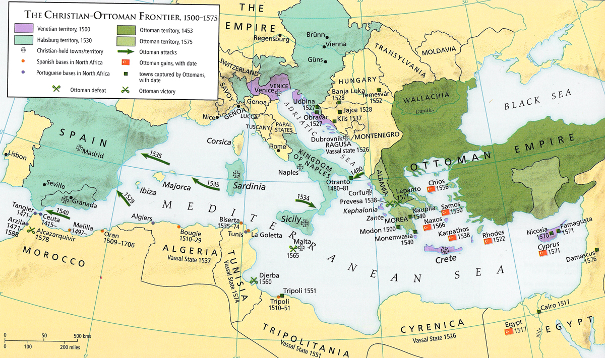 Today In Mediterranean History The Battle Of Lepanto
