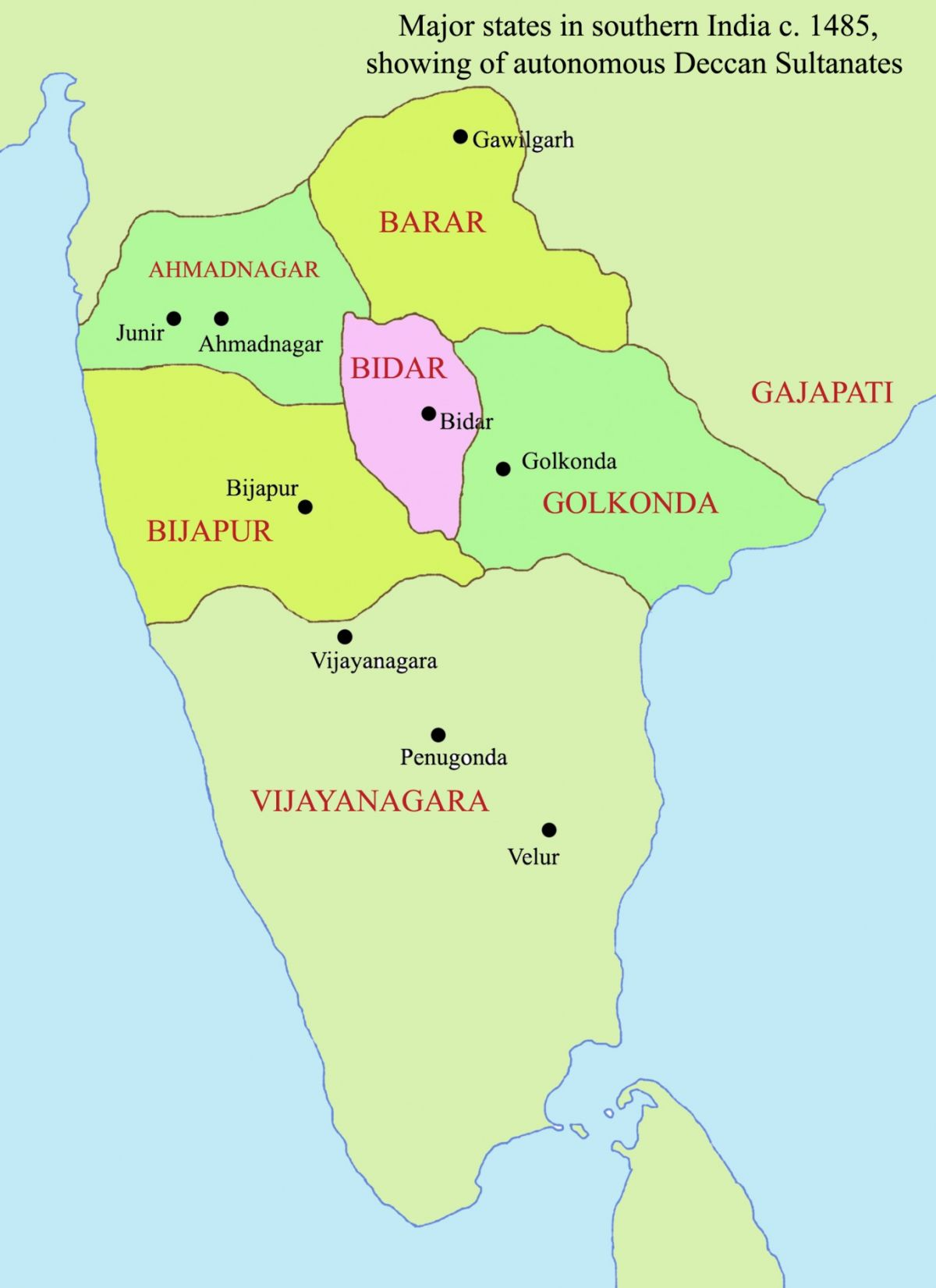 today in south asian history the battle of talikota 1565