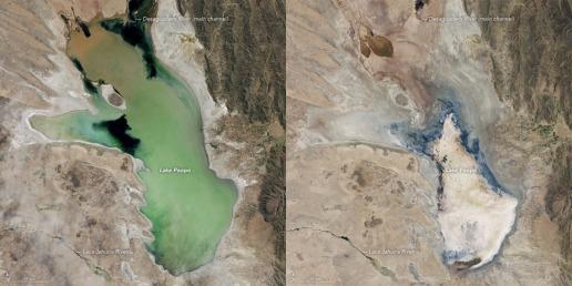 lake poopo 2013-2016