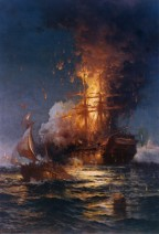 Today in US history: the burning of the USS Philadelphia (1804)