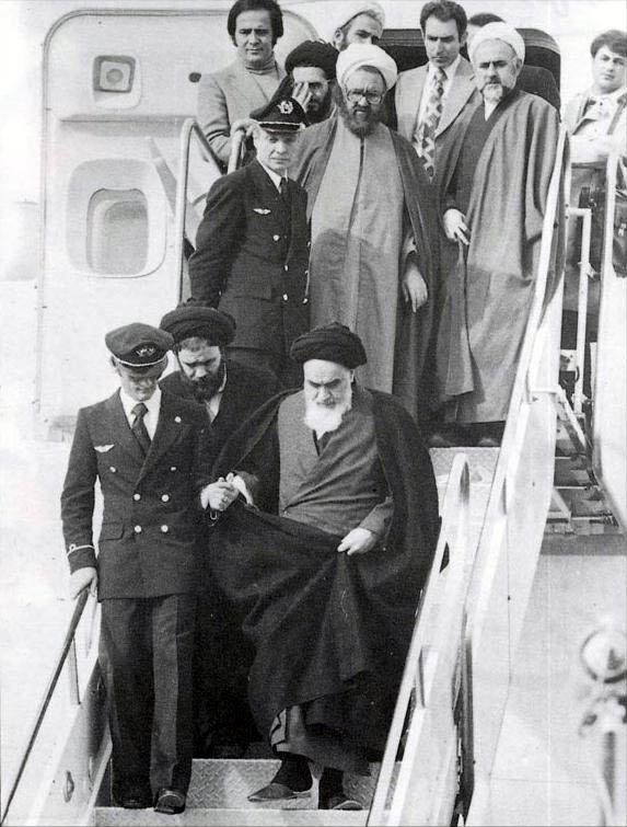 Today in Middle Eastern history: Khomeini returns from exile(1979)
