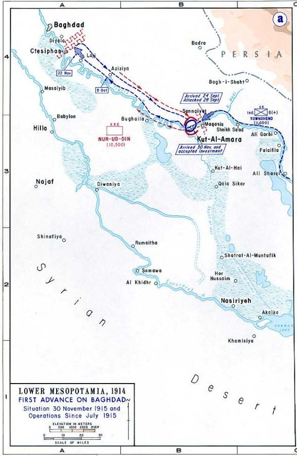 Today in Middle Eastern history: the Surrender of Kut(1916)
