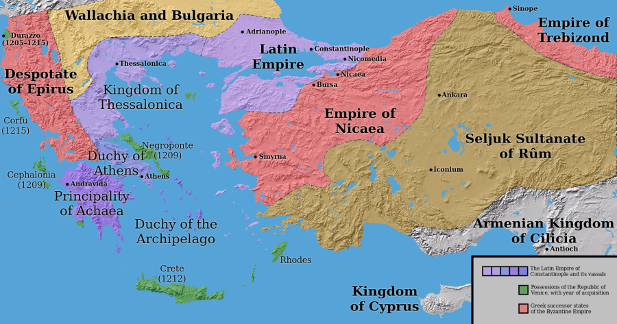 Today in European history: the Fourth Crusade sacks Constantinople (1204)