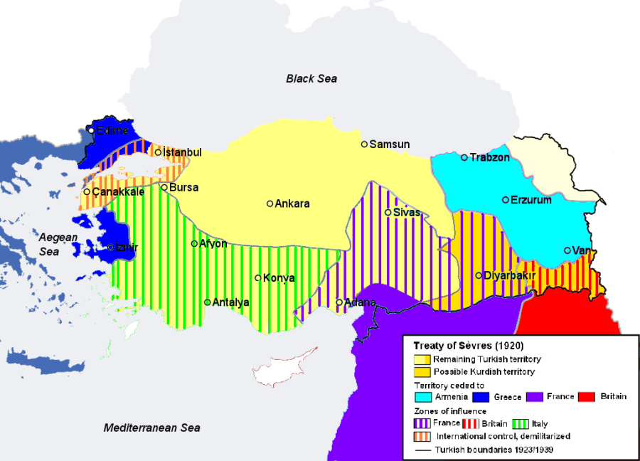 Today in Middle Eastern/European history: the Turkish War of Independence begins (1919)