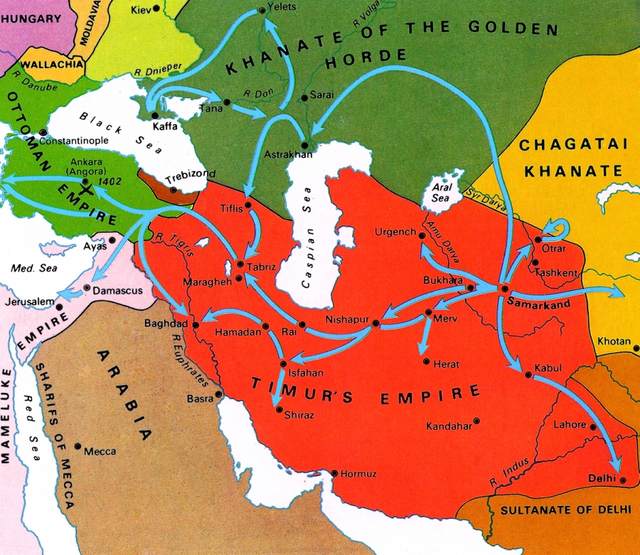 Today in Middle Eastern history: the Battle of Ankara (1402)