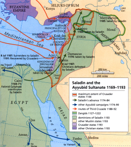 Today in Middle Eastern history: Saladin takes Jerusalem (1187)