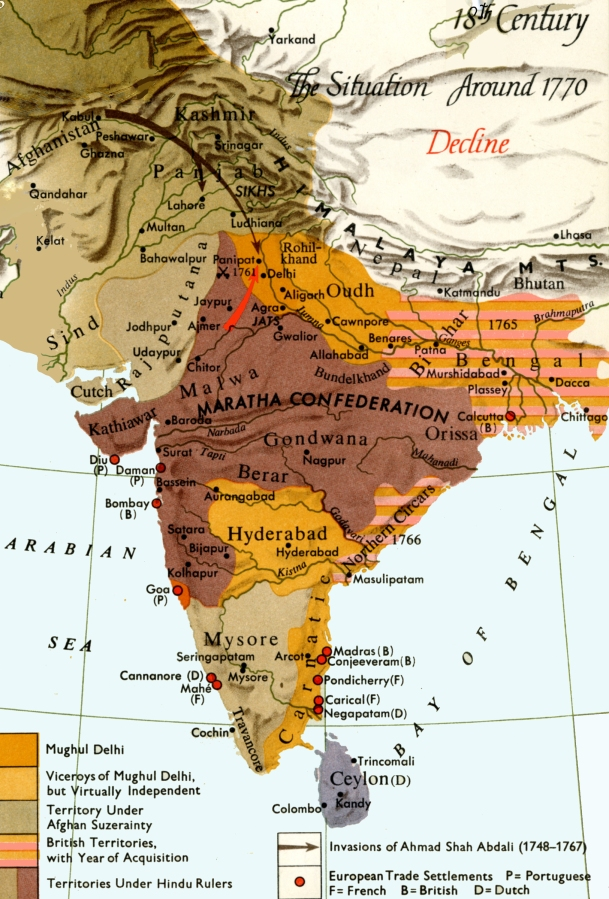 Today in South Asian history: the Third Battle of Panipat(1761)