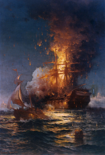 Today in American history: the burning of the USS Philadelphia(1804)