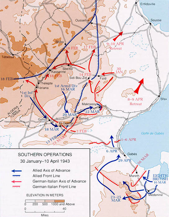 Today in North African history: the Battle of Kasserine Pass (1943)