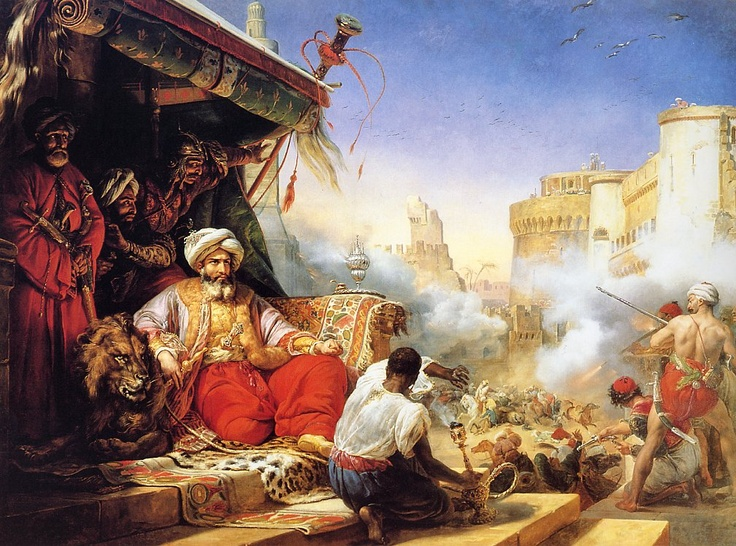 Today in Middle Eastern history: the Massacre at the Citadel (1811)