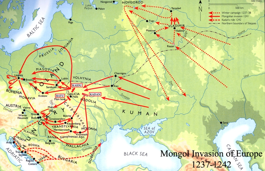 Today in European history: the Battle of Mohi(1241)